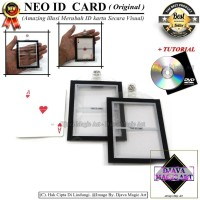 Neo Id Card - Original New - Art - Gimik Magic- Alat Sulap
