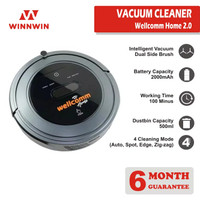 Wellcomm Home Robot Vacuum Cleaner With Virtual Wall