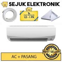 Daikin FTKC15PVM4 / FTKC 15 AC Split Smile Inverter - Putih 1/2 PK