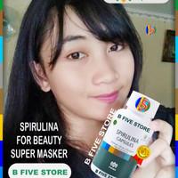 Tiens Tianshi SuperMasker HerbalTerbaik Spirulina 25Kapsul FOR BEAUTY