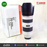 [SECONDHAND] Canon EF 70-200mm f2.8L USM - UZ 24 @Gudang Kamera Malang