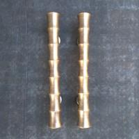 Handle Pintu Murah / Handle Pintu Kuningan Motif Pring Kuning 40 cm