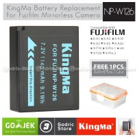 Kingma Baterai NP-W126 Fujifilm Battery XA3 XA5 XA10 XT20 XT100 Etc