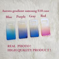 Samsung S10 AURORA GRADIENT TRANSPARAN CASE