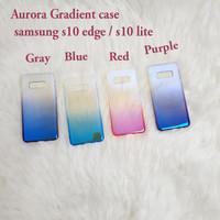 Samsung S10 edge / s10 lite AURORA GRADIENT TRANSPARAN CASE