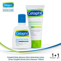 Cetaphil Daily Advance Ultra Hydrating Lotion 85G [Free GSC 125ML]