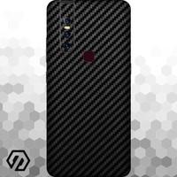 [EXACOAT] Vivo V15 3M Skin / Garskin - Carbon Fiber Black
