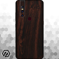 [EXACOAT] Vivo V15 3M Skin / Garskin - Wood Mahogany