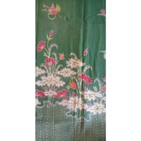 Kain Batik Tulis Bunga Teratai Premium Halus Ukuran 2 meter