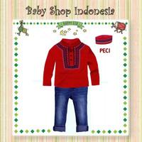Baju Koko Anak Import Murah Baju Anak Lebaran MC Bordir Celana Sofjean
