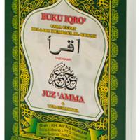 Buku IQRA Bendel Besar Plus Juz Amma KERTAS CD - Buku IQRO