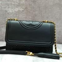 2dbedd71d Tory Burch Fleming Small Size 21cm Sling Bag / Tas Selempang Pesta