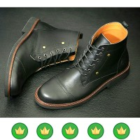 sepatu pria boot boots redwing clarks kulit safety martens brodo B24