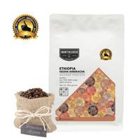 BIJI KOPI ARABIKA ETHIIOPIA GEISHA ANDERACHA - 200GR NORTHSIDER COFFEE