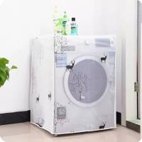 [ BUKA ATAS ] Cover Mesin Cuci BAHAN PEVA - tutup mesin cuci