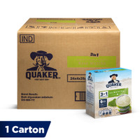 Quaker 3in1 Matcha Box 4 Sachets [1 Carton - 24 Pcs]