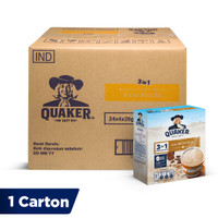 Quaker 3in1 Mocha Burst Box 4 Sachets [1 Carton - 24 Pcs]
