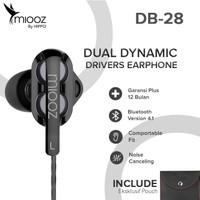 Hippo Miooz DB-28 Dual Dynamic Drivers Earphone