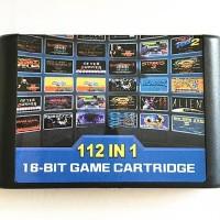 Terbaik 112 in 1 Game Cartridge 16 bit Game Card For Sega Mega Drive M