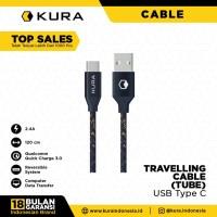 KURA Travelling Cable ( Tube ) - Kabel Data USB Type C
