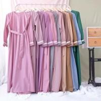 Gamis TOYOBO FODU Maxi Dress Syari Jilbab Busana Muslimah Gamis Murah