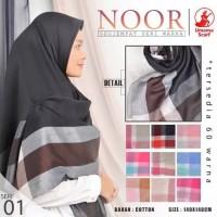 Jilbab Segiempat Umama Syari Noor Hijab Segi Empat Jumbo 140x140 Murah