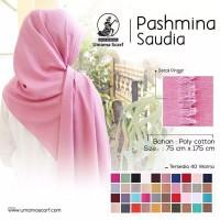 Pashmina Saudi Umama Ori Hijab Jilbab Pashmina Murah Best Seler 75x175