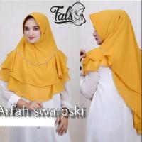 Khimar Jumbo Syari Arfah Jilbab Kerudung Hijab Instan 2 Layer Mutiara