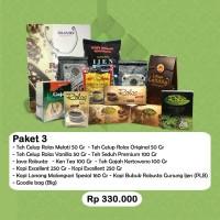 Parcel Lebaran Rolas Kopi dan Teh 3 - Original Produk Indonesia