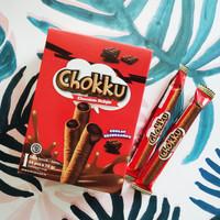 Chokku Wafer Roll Chocolate Flavour - Isi 24 Pcs