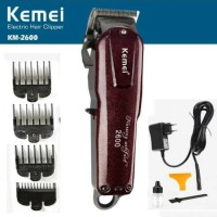 Kemei KM-2600 Profesaional Rechargeable Electric Hair Clipper Cordless