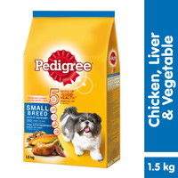 [Bundling Mix] Small Breed 1.5kg rasa Chicken and Veg & Dentastix 210g