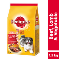 [Bundling Mix] Small Breed 1.5kg rasa Beef and Veg & Dentastix 210gr