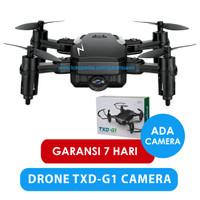 DRONE MINI TXD G1 WITH KAMERA HD 2MP BISA KONTROL MELALUI REMOTE