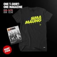 COMBINE PACKAGE Simamaung Tshirt SMNG ACADEMY + Majalah Maung #8
