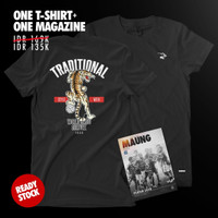 COMBINE PACKAGE Simamaung Tshirt WORLD CLASS CULTURE + Majalah Maung#8