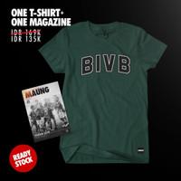 COMBINE PACKAGE Simamaung Tshirt BIVB + Majalah Maung #8