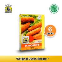 Krokky Kroket Cheese ( Keju ) pack of 6