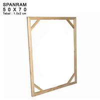 SPANRAM Frame Rangka Kayu 50x70 cm