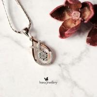 Liontin Berlian Pear Shape 03 - Ivana Jewellery