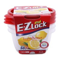Lock&Lock Food Container EZ Lock 120mlx3P (HLE9204S)