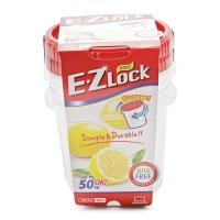 Lock&Lock Food Container EZ Lock - 650ml x 2Pcs (HLE9614S)