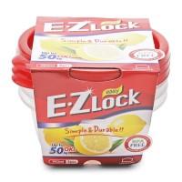 Lock&Lock Food Container EZ Lock 190mlx3P (HLE9304S)