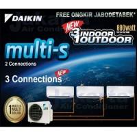 AC Daikin Multi S 3 Koneksi 3/4 PK + 1 PK + 1 PK