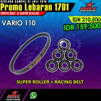 Paket Super Roller & V Belt BRT Honda Vario 110 Karburator