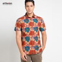 [Arthesian] Kemeja Batik Pria - Arvin Batik Printing