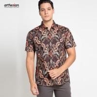 [Arthesian] Kemeja Batik Pria - Mahawira Batik Printing