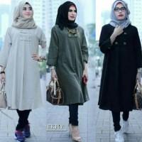 Promo Baju Atasan Blouse Wanita Baju Muslim Blus Muslim Ekhy Tunik -
