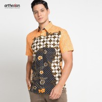 [Arthesian] Kemeja Batik Pria - Saverio Batik Printing