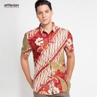 [Arthesian] Kemeja Batik Pria - Aksa Batik Printing